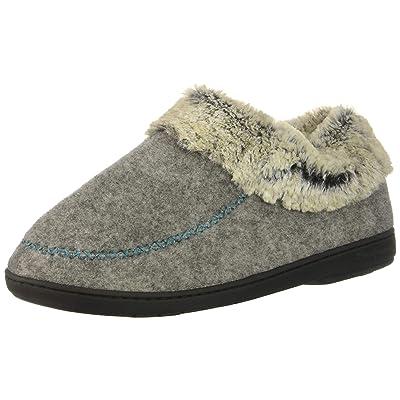 Dearfoams Women's Felted Faux Wool Bootie Slipper | Slippers