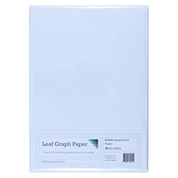 A Graph Paper Mm Cm Squared Cartesian   LooseLeaf Sheets