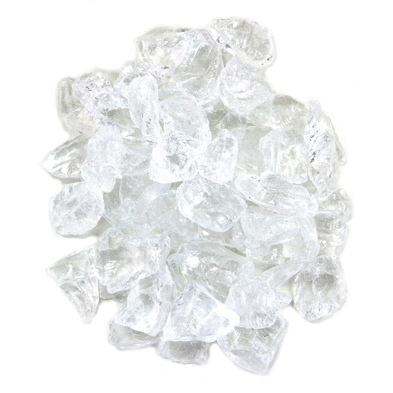 Koyal machen Mittelpunkt Vase Filler Dekorative Crushed Glas, 4.5-pound rauten rauten rauten - blau 9d932e