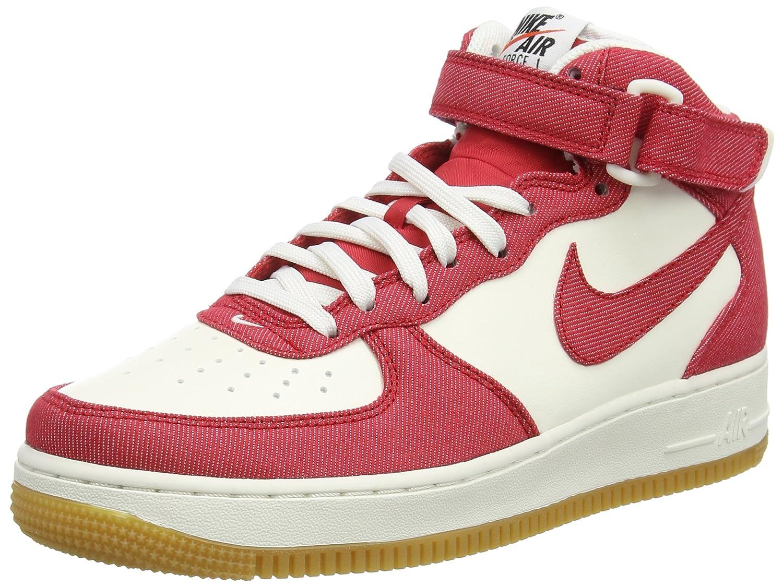 MultiCouleure (University rouge University University University rouge Sail  Gum Light) Nike Air Force 1 Mid '07, paniers Hautes Homme 1a4