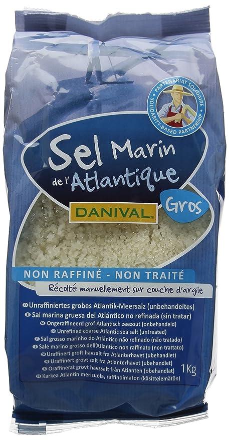 Danival Organic Unrefined Coarse Sea Salt 1 kg (Pack of 6)  Amazon ... 0ed3cc4b3