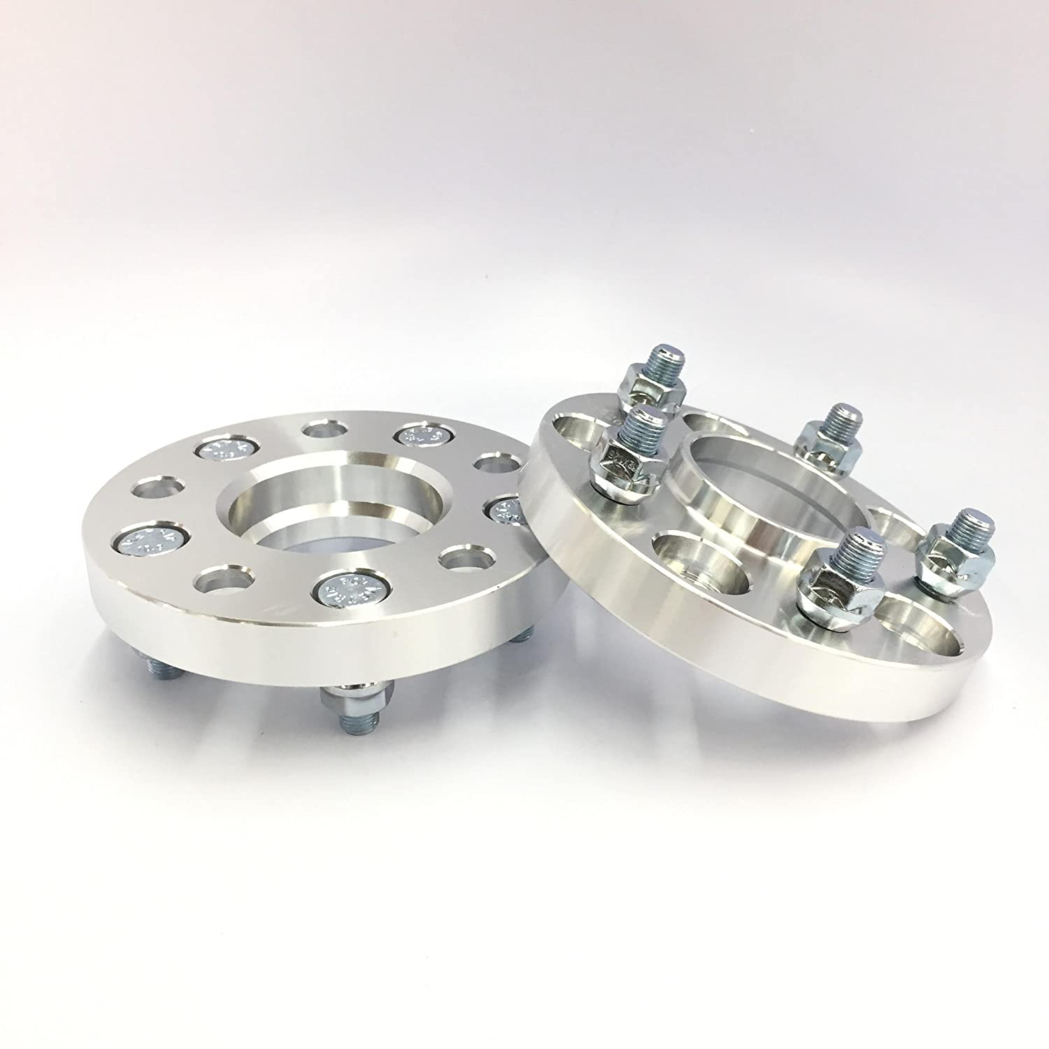 4 Pieces 1 25mm Hub Centric Wheel Spacers with Lip Thread Pitch 14mm x 1.5Bolt Pattern 5x114.3 5x4.5 Center Bore 71.5mm Hub 14x1.5 Stud