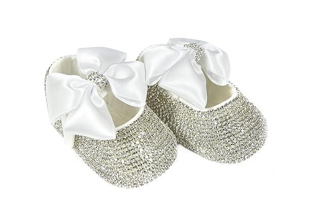 94b0c585601ba Amazon.com   Mini Plum Baby Girls Personalized Christening Baptism ...
