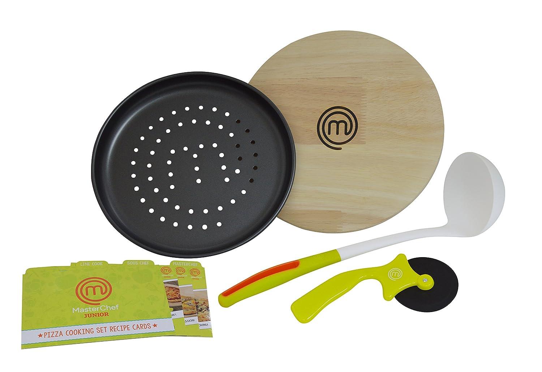 Amazon.com: Master Chef Jr. Pizza set de cocción: Toys & Games
