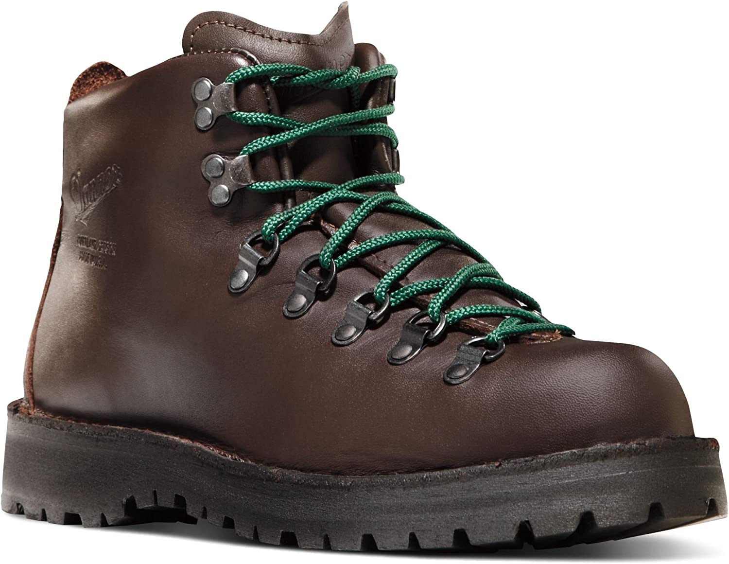 Danner Mountain Light II 5 Brown Vibram 30800 Sole Outdoor Boots Downhill Braking and Side-Hill Traction