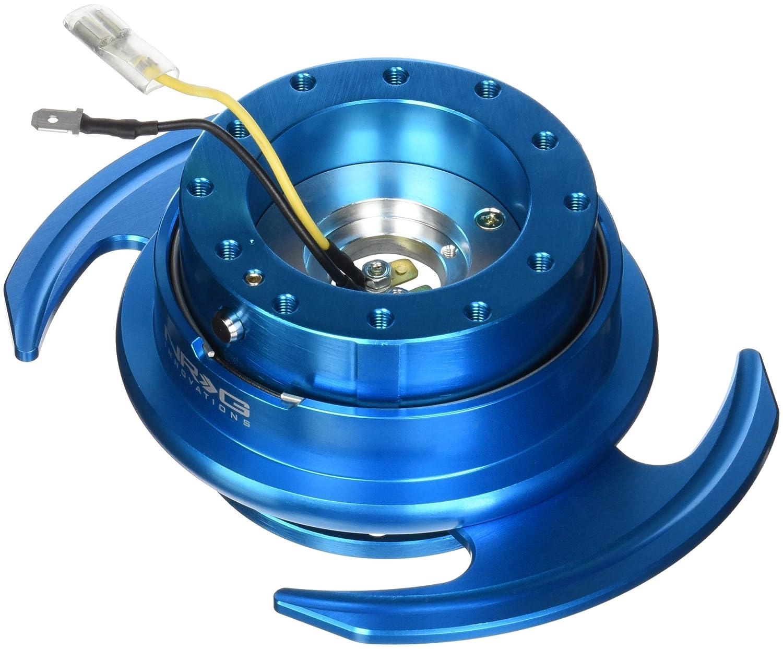 HARDWARE SRK-650NB NEW NRG BALL LOCK QUICK RELEASE GEN 3.0 NEW BLUE BODY /& RING