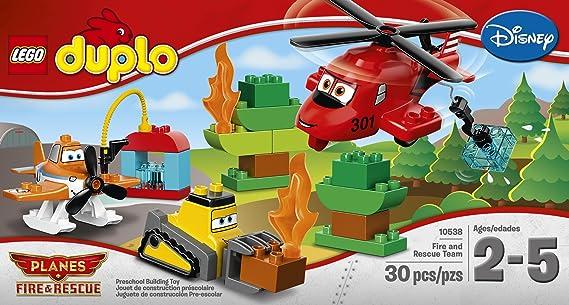 Amazon Lego Duplo Planes Fire And Rescue Team 10538 Building