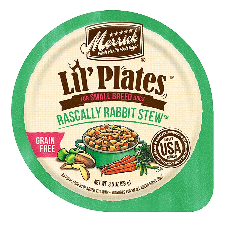 Merrick Lil'Plates Grain Free Rascally Rabbit Stew, 3.5 oz