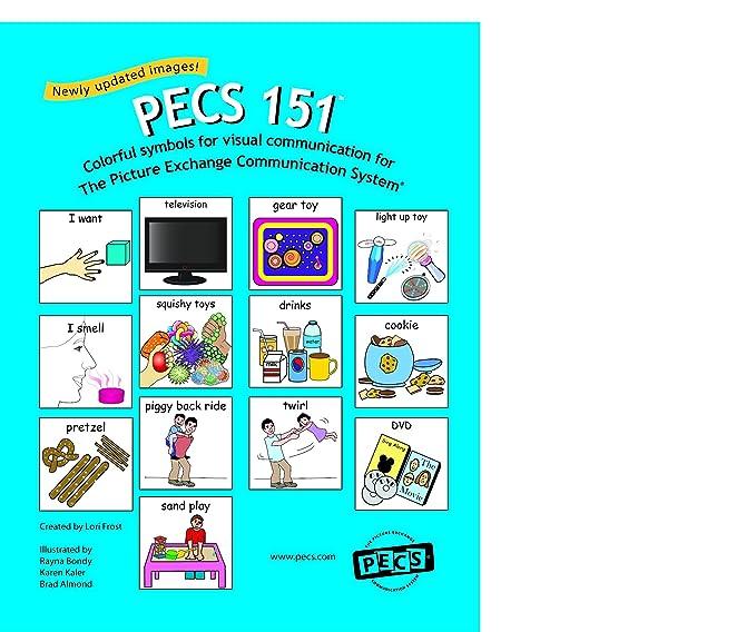 Amazon Pecs 151 1 34 Symbols For Picture Exchange