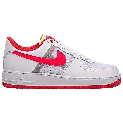NIKE AIR FORCE 1 '07 LV8 1 Nike air force 1 '07 LV8 1 WHITEBRIGHT CRIMSONBARELY VOLT ci0060 102