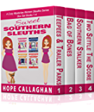 Sweet Southern Sleuths Cozy Mysteries: Box Set I: (Books 1-4 of 12 Short Stories)