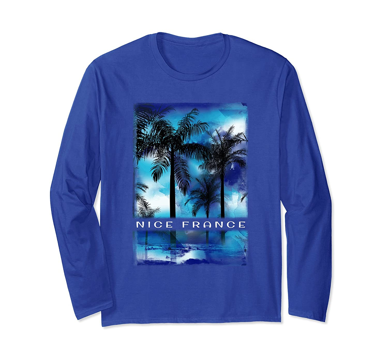 Nice France Vacation T Shirt Family Mediterranean Apparel-alottee gift
