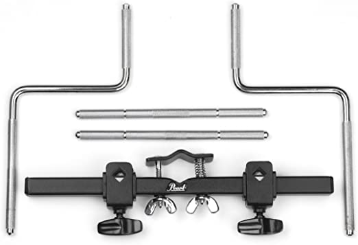 Pearl PPS82 18-Inch Rack with 4 Straight Posts and Two 2-Inch Posts
