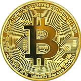 TS Trade Gold / Silber / Kupfer überzogene Bitcoin Münze Sammlerstück BTC Münze Kunstsammlung Physikalisch