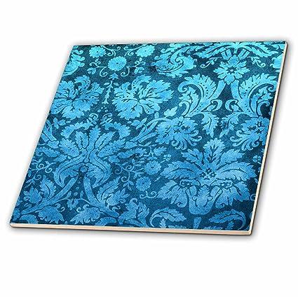 Amazoncom DRose Ct Decorative Vintage Floral Wallpaper - 4 inch decorative ceramic tile