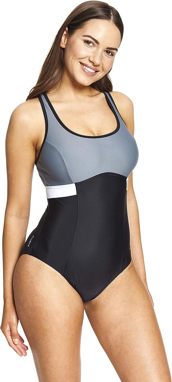 Zoggs Women's Dakota Crossback Eco Fabric One Piece Swimsuit