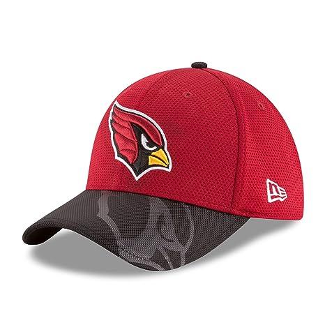 Arizona Cardinals New Era On-Field Sideline 39THIRTY Flex Fit Hat   Cap  Small  a8bc5f317