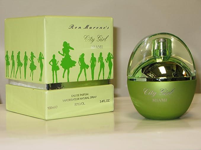 Ron Marones City Girl Miami 3.4 Oz Eau De Parfum Spray for Women by Ron Marone