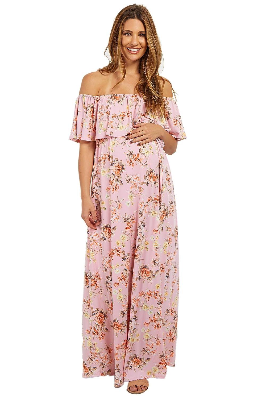 PinkBlush Maternity DRESS レディース Large ライトピンク B073V58HCF