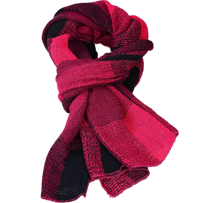 Kukome(TM) Damen der Frauen Cashmere Gefällt Herbst/Winter Splicing Design Schal Wraps Stola Halstücher