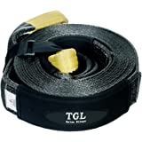 "3"", 30' Nylon Recovery Strap, Snatch Strap, Tow Strap 24,000 Pound Capacity"