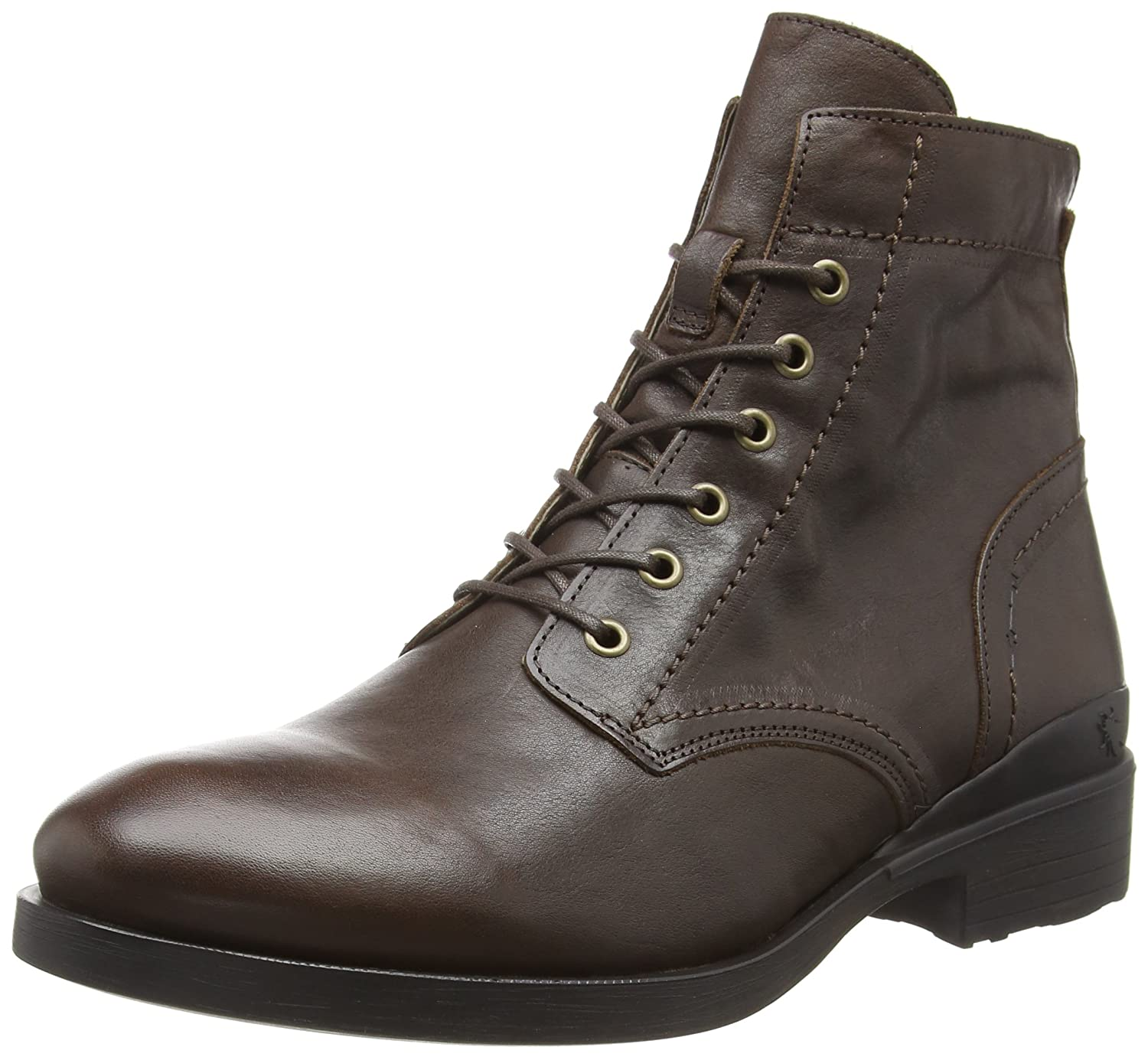 TALLA 41 EU. Fly London Marc343fly, Botas Clasicas para Hombre, Marrón (Brown 002), 41 EU