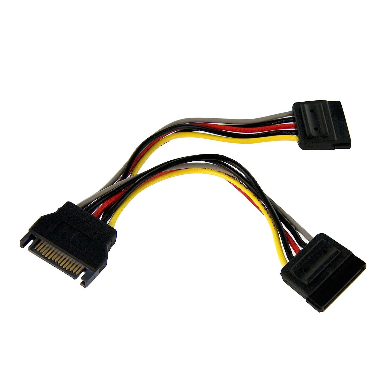StarTech.com PYO4SATA 4x SATA Power Splitter Adapter Cable Storage Cables