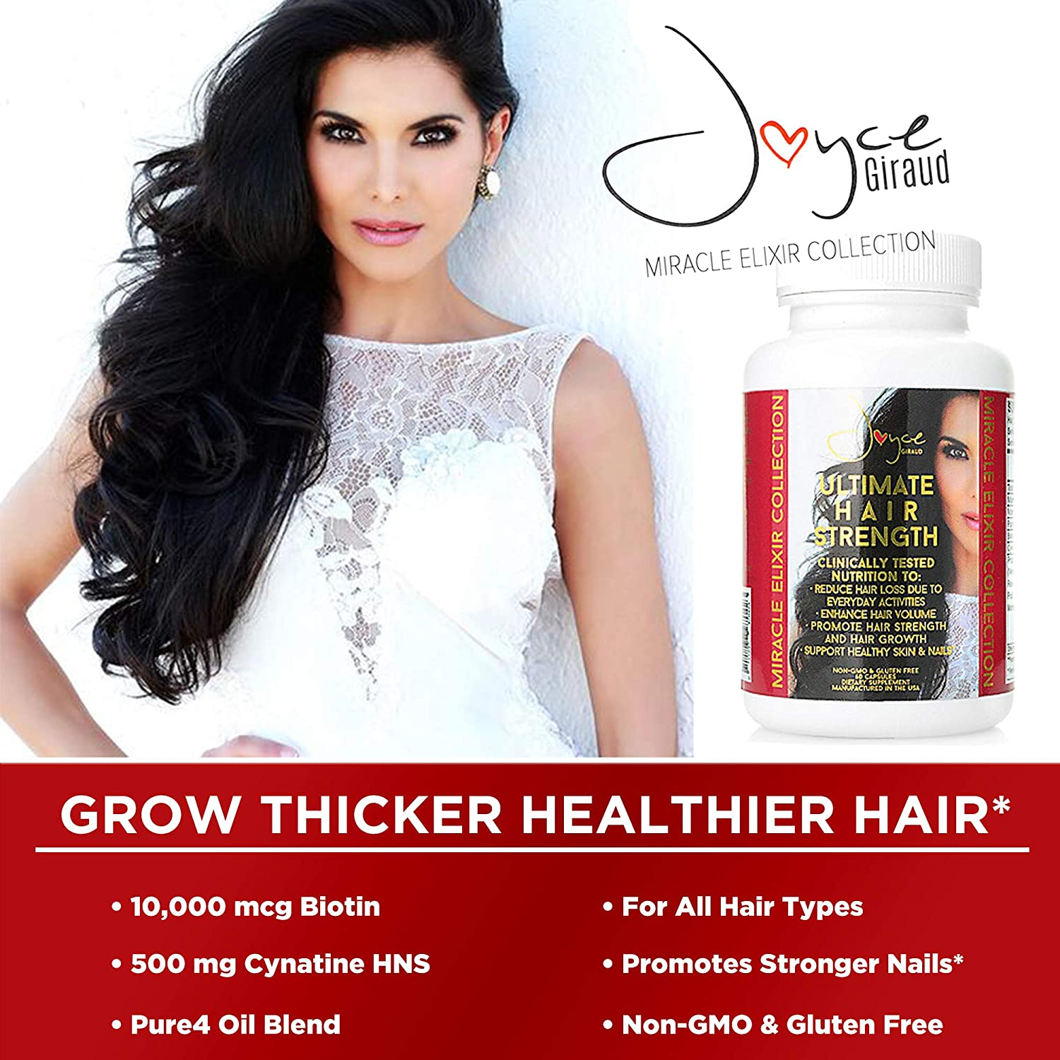Joyce Giraud Ultimate Hair Strength Supplement