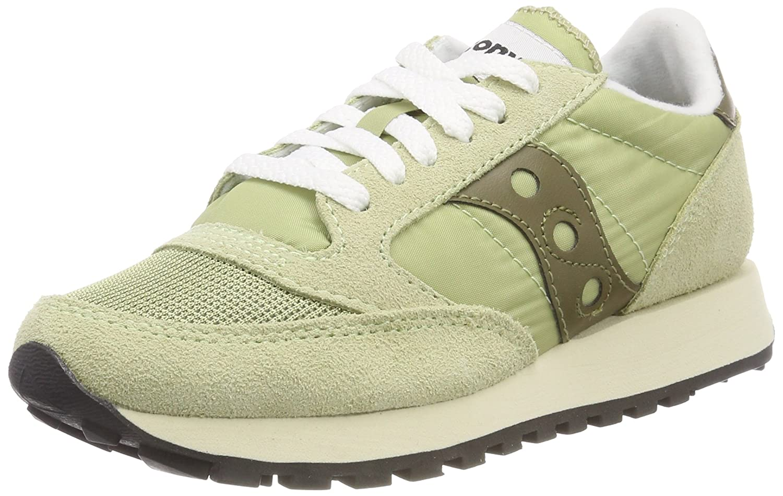 Saucony Jazz O Vintage, Zapatillas de Cross para Mujer 38.5 EU Verde (Sage/Olive 32)