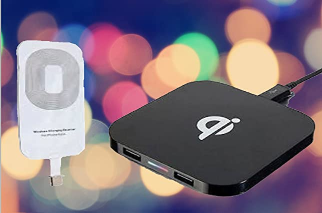 Bundle Of 2 Items, 1 IPhone X 8 8 Plus QI Wireless Charger &