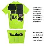 Spotti Men's Basic Short Sleeve Cycling Jersey