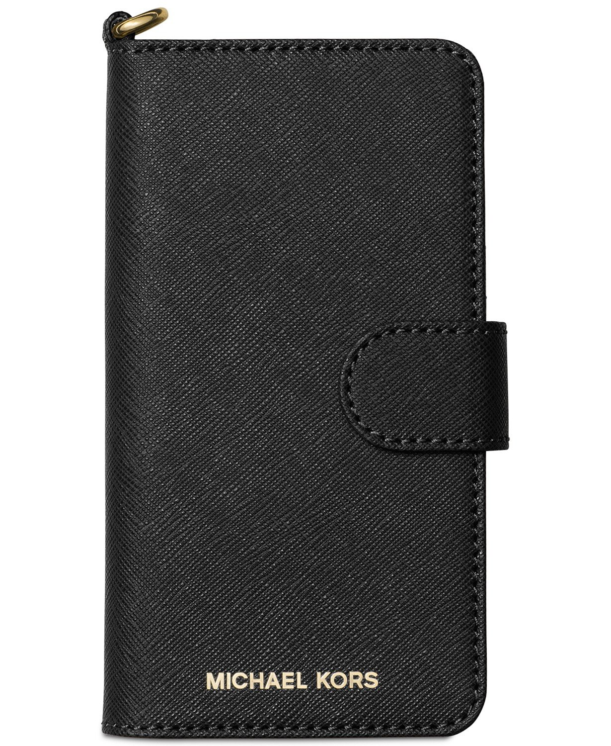 pretty nice 4d917 49b76 Michael Kors Saffiano Leather Folio Case for iPhone 8 & iPhone 7, Black