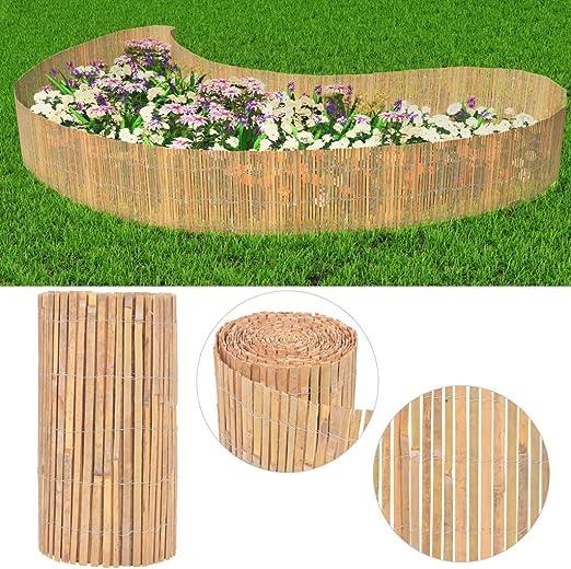xings huoon Line Valla de jardín (– Estera de bambú Balcón Valla 1000 × 50 cm: Amazon.es: Jardín