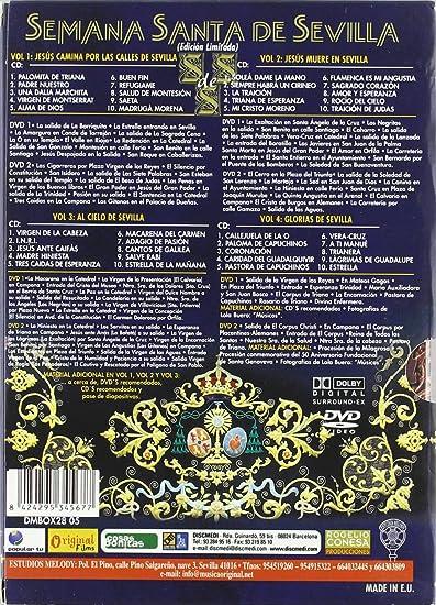 Pack Semana Santa En Sevilla 1-4 [DVD]: Amazon.es: Varios: Cine y Series TV