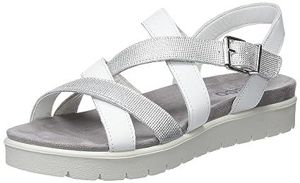 1171222 Fitness Training Sandal Silver Woman Cross amp; IGI Shoes amp;CO wTqvFFI1
