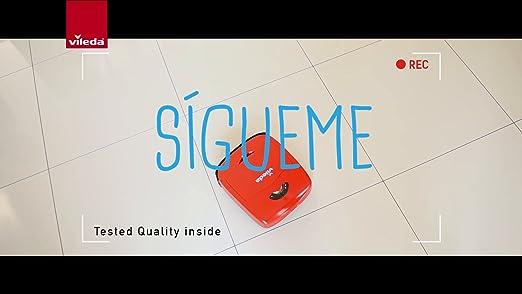 Vileda VR 101 - Robot aspirador y escoba para suelos duros y ...