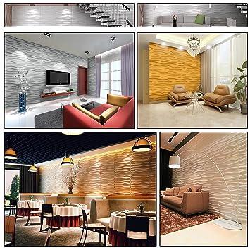 6 m², Paneele 3D Platten Wanddekoration Wandpaneele ...