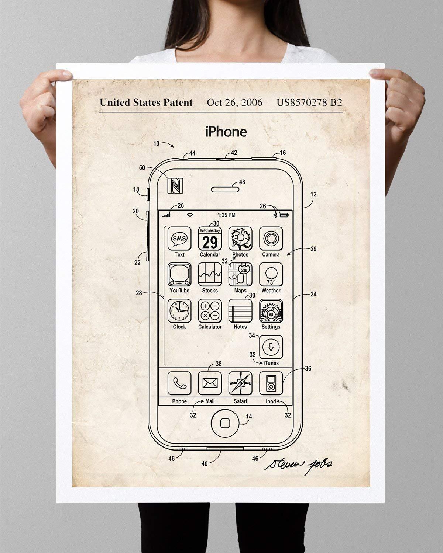9856da694db9b Amazon.com: Steves Poster Store: Patents