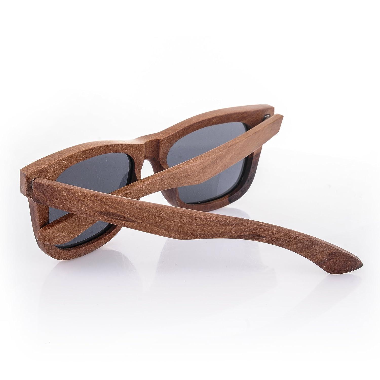 Holz Sonnenbrille polarisierte 4sold Der Rahmen der Brille besteht aus Birnbaumholz / Bambus wood glasses eyewaer bamboo / wayfarer style (bamboo Polarized) lxJYew