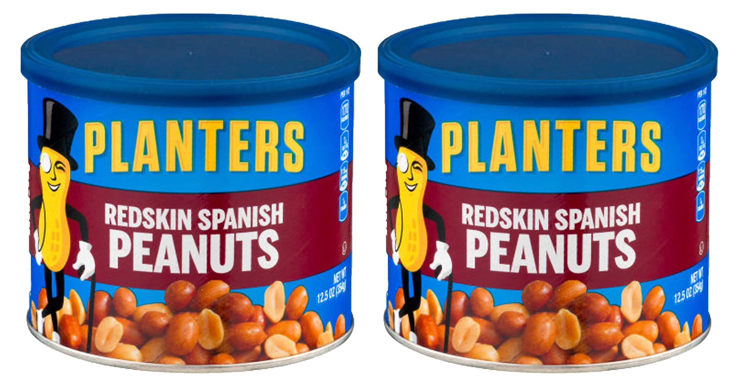 Planters Peanuts, Spanish Rdskn w/ Sea Salt, 12.5 oz, 2 pk by Planters (Image #1)