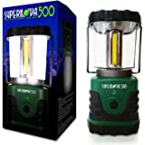Supernova 500 Ultra Bright Camping & Emergency LED Lantern, Forest Green