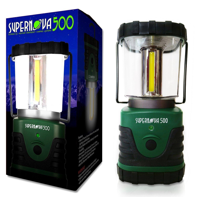 Supernova 500 Ultra Bright Camping & Emergency LED Lantern, Forest Green by Supernova