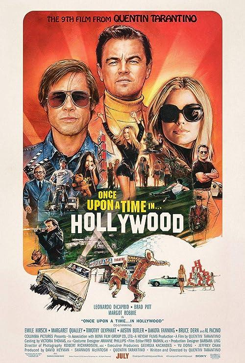 Once upon a time in... Hollywood / Quentin Tarantino, réal. et scén. | Tarantino, Quentin (1963-....). Scénariste. Metteur en scène ou réalisateur