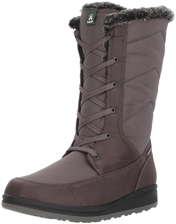 Kamik Women's Quincy Snow Boot B01N6LXG35 5 D US|Charcoal