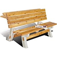 2x4 Basics Flip Top Bench To Table
