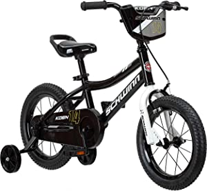 Schwinn Koen Boys Bike for Toddlers and Kids, 12, 14, 16, 18, 20 inch Wheels for Ages 2 Years and Up, Red, Blue or Black, Balance or Training Wheels, Adjustable Seat