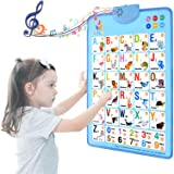 MOFANG Electronic Interactive Alphabet Wall Chart, Talking ABC & 124s & Music Poster, Best Educational Toy for Toddler…