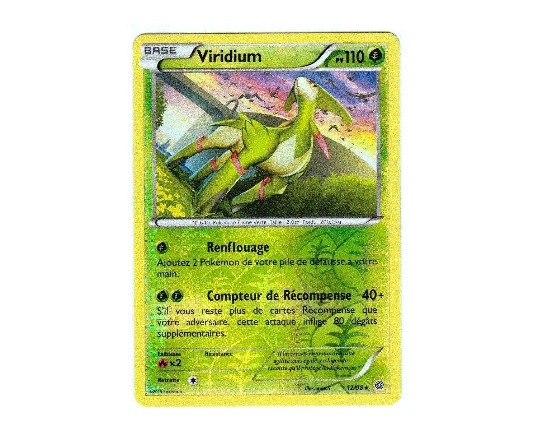 XY5:Origines Antiques Carte Pokemon Neuve Française Viridium 5/5