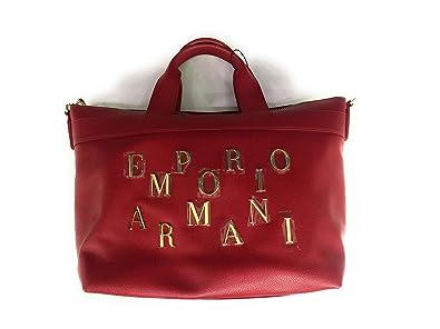 5b1e60fbd Emporio Armani , Sac à main pour femme Rouge Rouge rubis 33 x 18 x ...