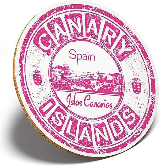 1 posavasos redondos de Islas Canarias, España, para estudiantes ...